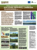 Newly Discovered Mangrove Peat in Koh Kong Province, Cambodia